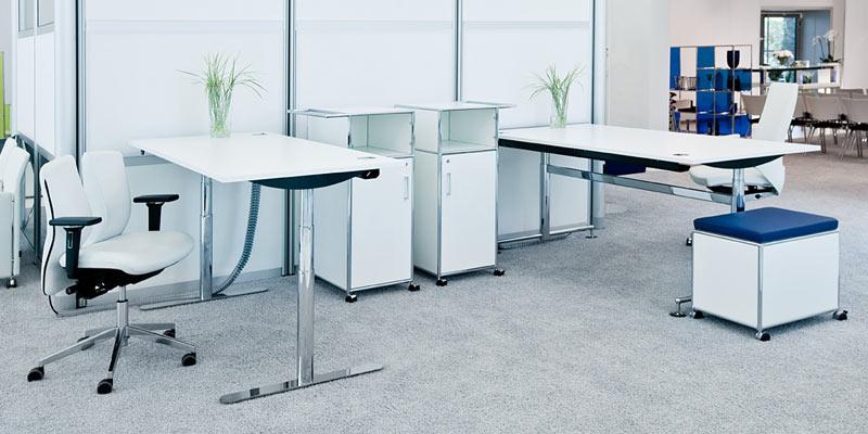schreibtisch ergonomisch h henverstellbar, höhenverstellbare schreibtische bosse, Design ideen