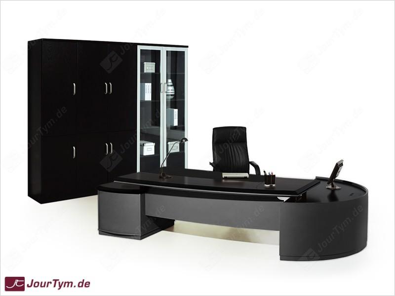Chef-Schreibtisch Bergamo Black Edition