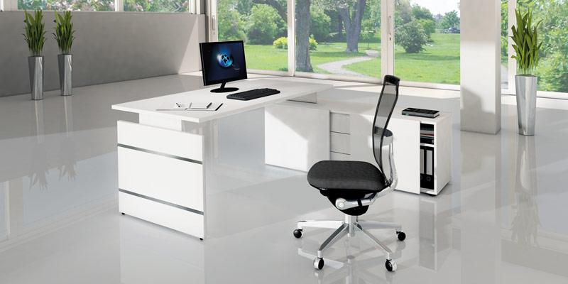 Komplettarbeitsplatz, Büromöbel System Aveto
