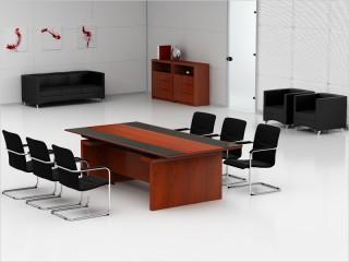 Konferenztisch Bergamo 2400 x 1200 mm