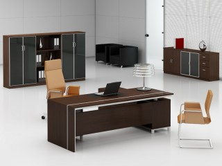 Design Büromöbel Foggia Zebrano