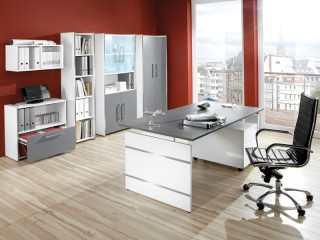 Büromöbel Set 11-teilig Form 4 Komplett