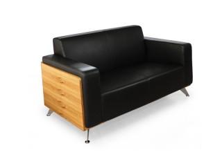 Couch Milano Zebrano 2-Sitzer