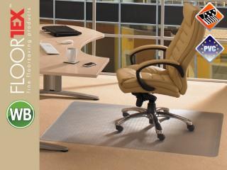 Floortex Cleartex Advantagemat PVC Schutzmatte für Teppichböden