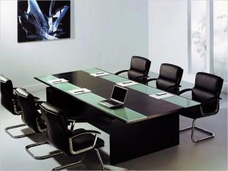Konferenztisch Catania mit 6 x Freischwinger
