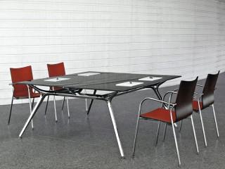 Schreibtische l form arkitek winkelschreibtisch kaufen for Konferenztisch design