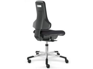 Reinraum Arbeitsstuhl Dauphin IS 20660 ISO-Klasse 4 leitfähig
