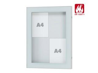 schaukasten aluminium au en 16 x din a4 online bei bestellen. Black Bedroom Furniture Sets. Home Design Ideas