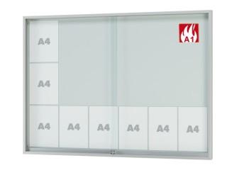 brandschutz vitrine glas brandschutzvitrinen g nstig. Black Bedroom Furniture Sets. Home Design Ideas