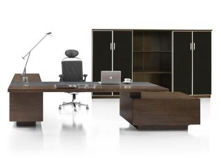 Schreibtisch Ancona Zebrano und Sideboard