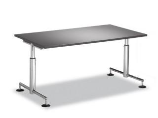 h henverstellbare t desk schreibtische bosse modul space. Black Bedroom Furniture Sets. Home Design Ideas