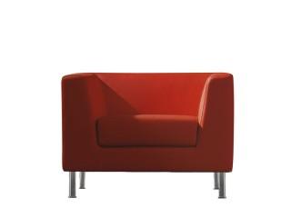 Loungesessel Cube für Wartezimmer oder Empfangsbereiche