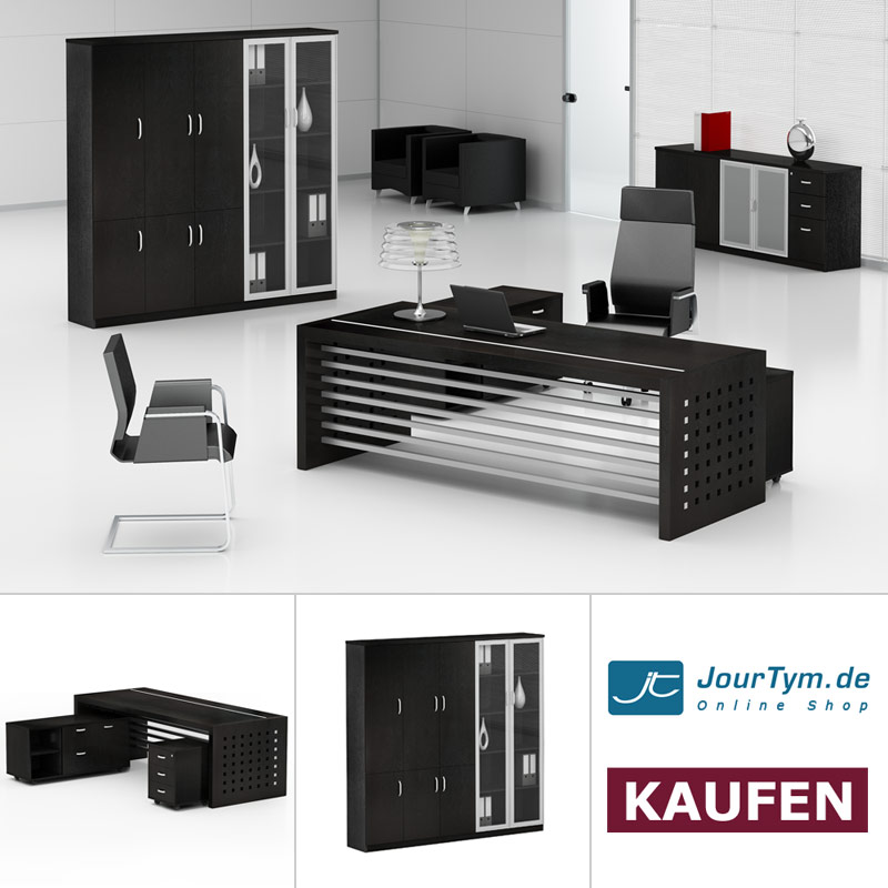 arbeitszimmer m bel schreibtisch aktenschrank prato. Black Bedroom Furniture Sets. Home Design Ideas