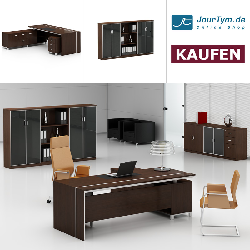 schreibtisch container l tisch foggia g nstig kaufen. Black Bedroom Furniture Sets. Home Design Ideas