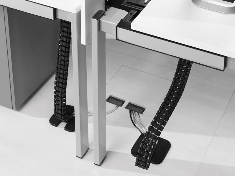 kabelschlange zum einh ngen an kabelkanal schreibtisch equip. Black Bedroom Furniture Sets. Home Design Ideas