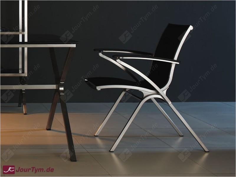 Design gartenstuhl armlehnstuhl edelstahl batyline jt01b07 for Designer armlehnstuhl