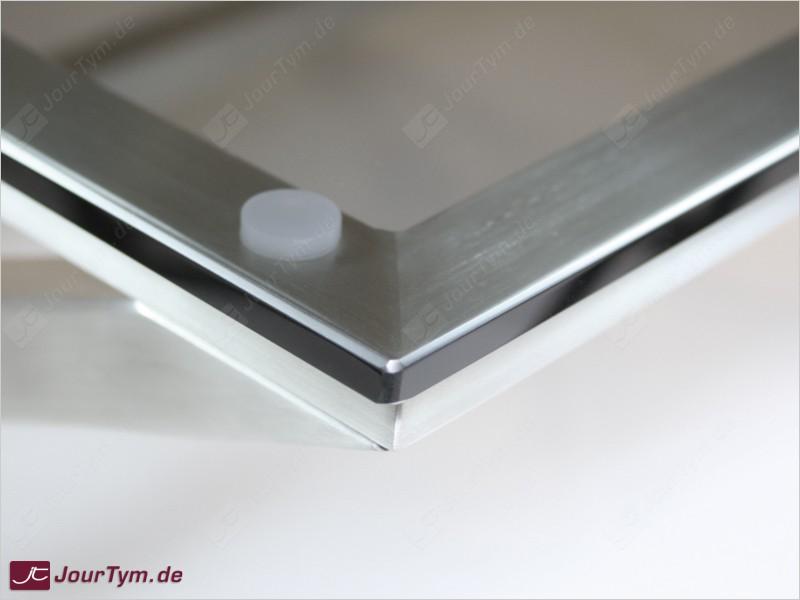 Design couchtisch xsteel jt01d06 edelstahl rauchglas for Designer couchtisch edelstahl