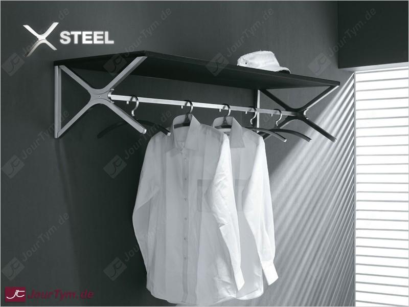design garderobe xsteel jt01n14 edelstahl 4 kleiderb gel