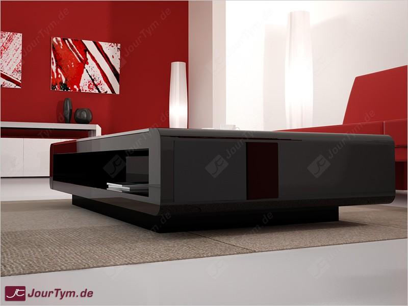 Design Couchtisch Urania (schwarz)