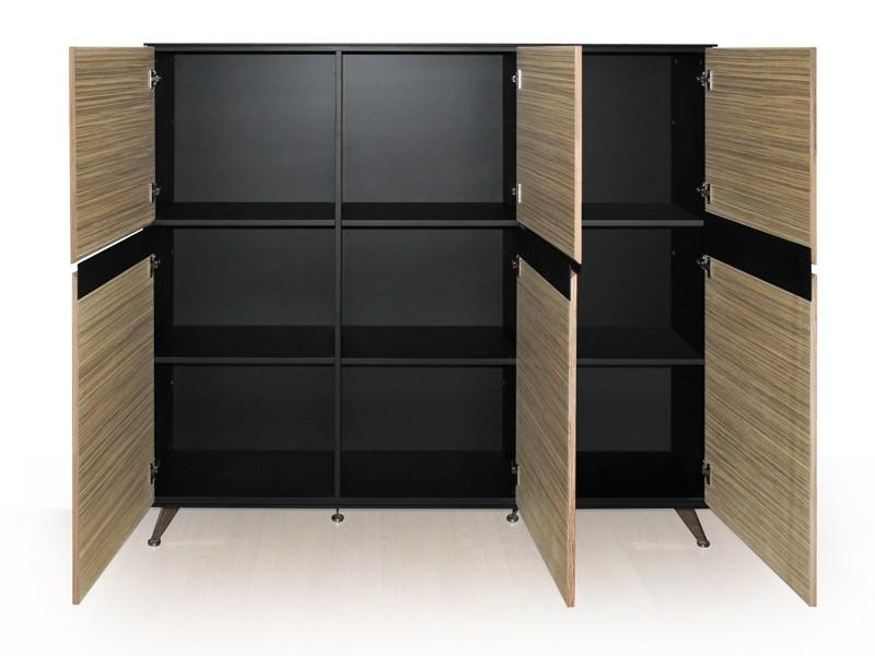 b ro schreibtisch kombination livorno zebrano bei jourtym kaufen. Black Bedroom Furniture Sets. Home Design Ideas