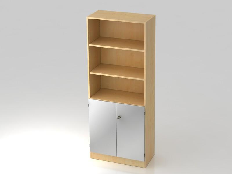 Büroschrank abschließbar  Büroschrank V6770 5OH abschließbar Hammerbacher Solid 6