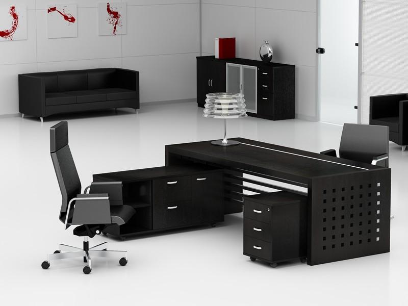 Arbeitszimmer Möbel Schreibtisch Aktenschrank Prato