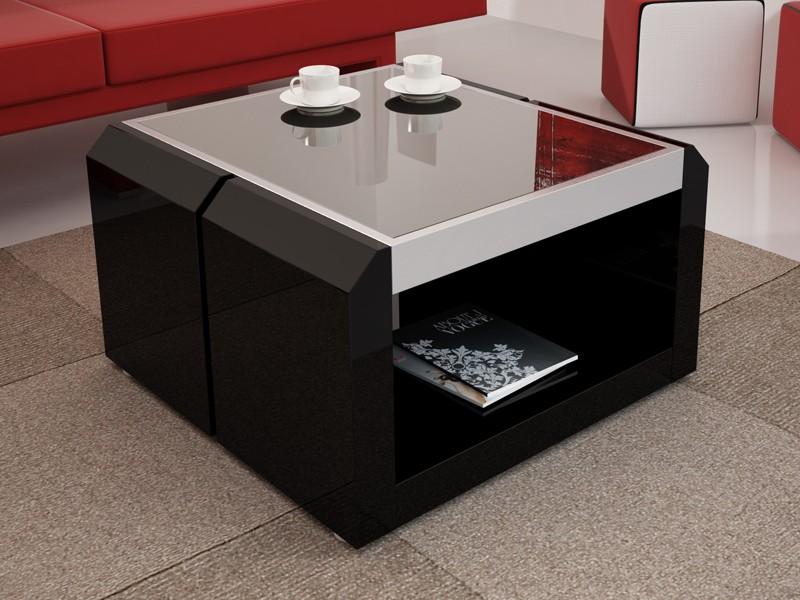 beistelltisch thespia schwarz bei jourtym. Black Bedroom Furniture Sets. Home Design Ideas