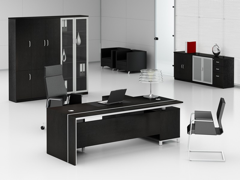 schreibtisch schrank komplettes b ro foggia g nstig. Black Bedroom Furniture Sets. Home Design Ideas
