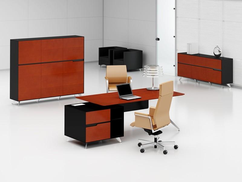 b roeinrichtung livorno l kirsche links schreibtisch mit aktenschrank. Black Bedroom Furniture Sets. Home Design Ideas