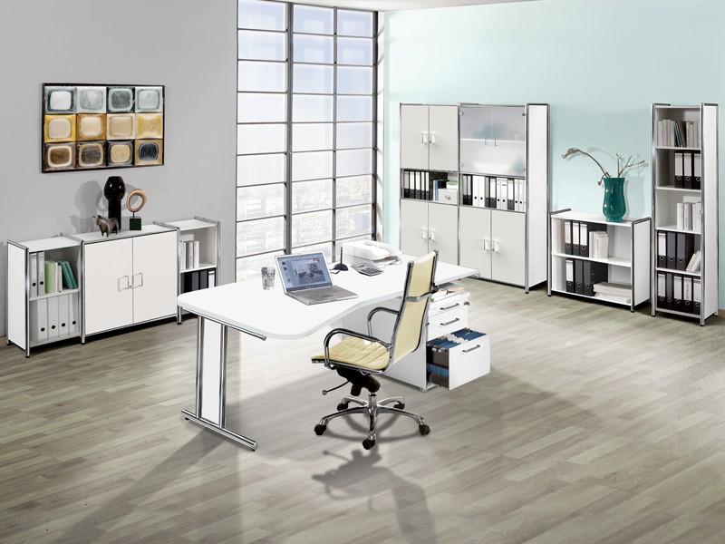 Büromöbel Berlin komplett Arbeitszimmer 12-teilig Sparset