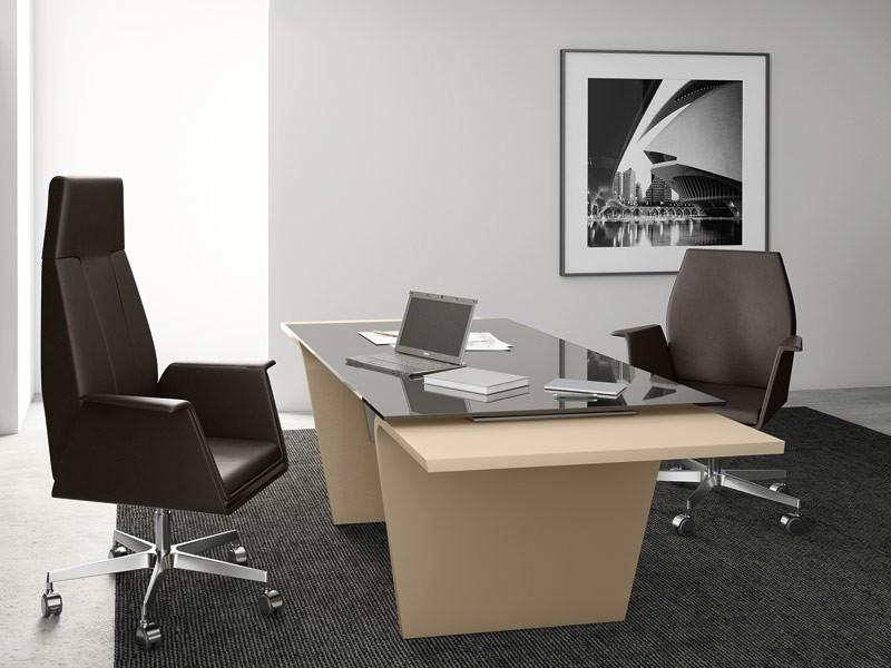 Design Schreibtisch Glas bei JourTym.de zum besten Preis