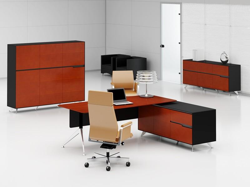 b rom bel livorno xl kirsche rechts schreibtisch mit aktenschrank. Black Bedroom Furniture Sets. Home Design Ideas