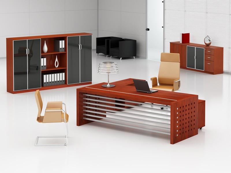 Büromöbel Monza Schreibtisch Mit Sideboard