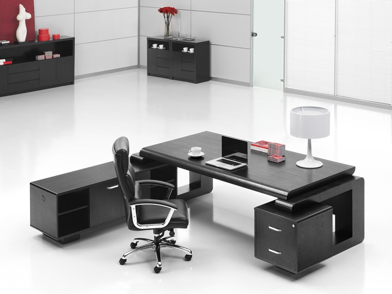 eiche schreibtisch b rom bel office varese online kaufen. Black Bedroom Furniture Sets. Home Design Ideas
