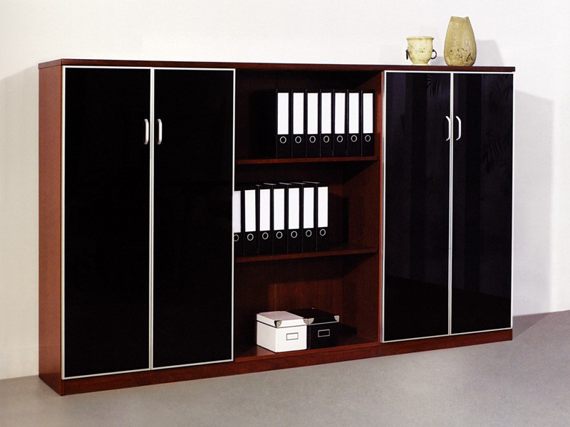b rowand mit schreibtisch komplett b rom bel g nstig. Black Bedroom Furniture Sets. Home Design Ideas