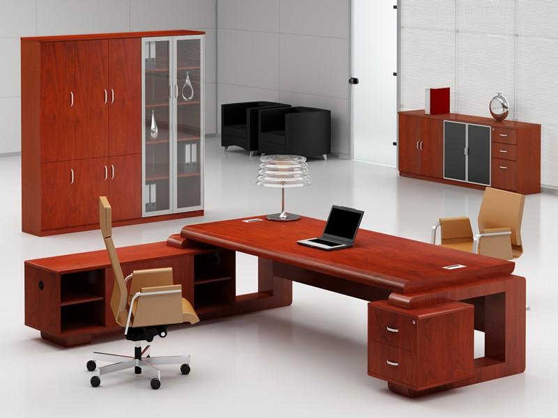 Schreibtisch gro b rom bel chefb ro online kaufen for Schreibtisch l form