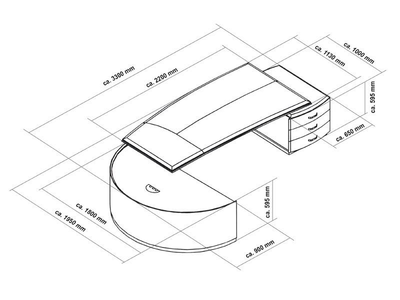 chefzimmer bei b rom bel jourtym kaufen. Black Bedroom Furniture Sets. Home Design Ideas