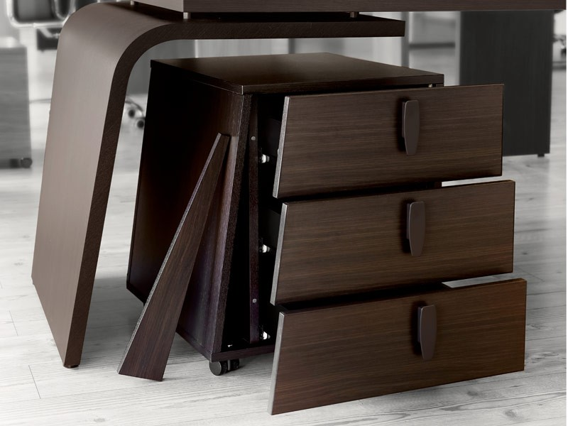 Design schreibtisch in bester qualit t online kaufen for Schreibtisch container design