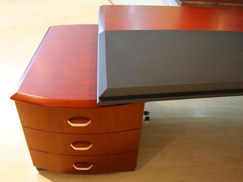 Schreibtisch Halbrund Bei Jourtym Büromöbel