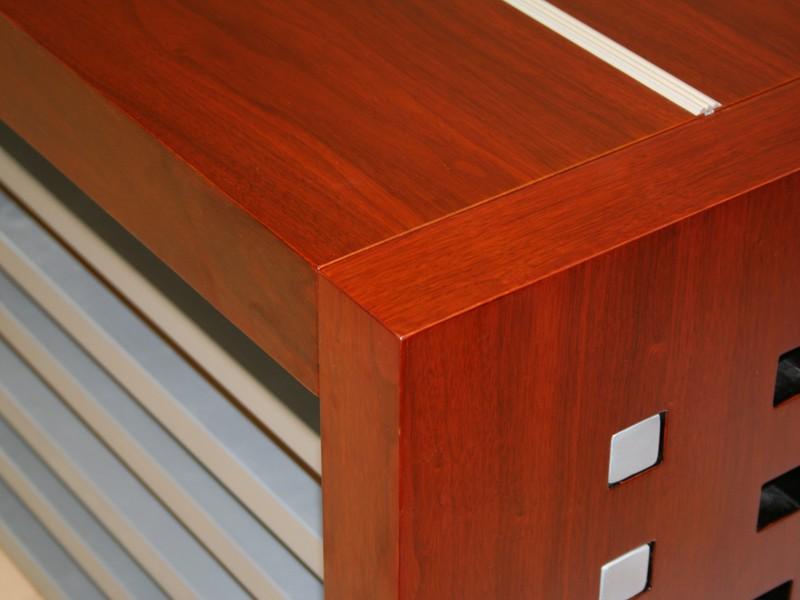 Schreibtisch set b roeinrichtung komplett monza g nstig for Schreibtisch aus echtholz