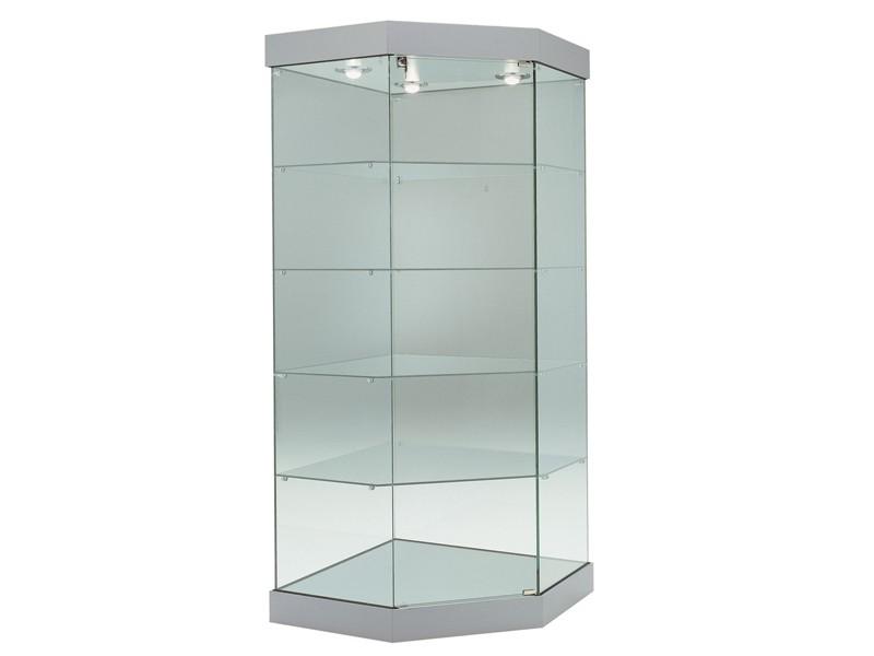 eckvitrine glas g nstig online erwerben bei. Black Bedroom Furniture Sets. Home Design Ideas