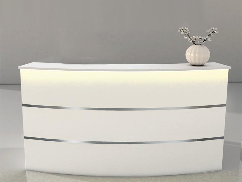 empfangstheke wei kerkmann padova 3408. Black Bedroom Furniture Sets. Home Design Ideas