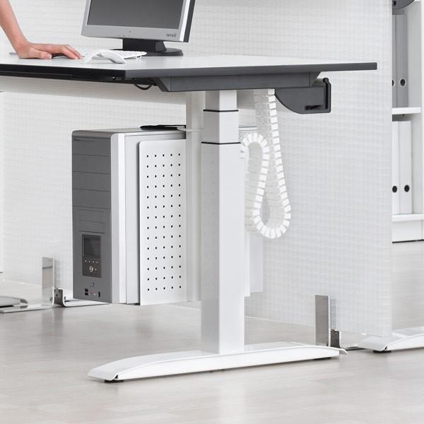 ergonomischer schreibtisch h henverstellbar jourtym b rom bel. Black Bedroom Furniture Sets. Home Design Ideas