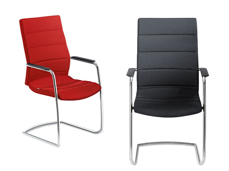 Freischwinger stuhl bei jourtym b rom bel for Design stuhl freischwinger piet 30