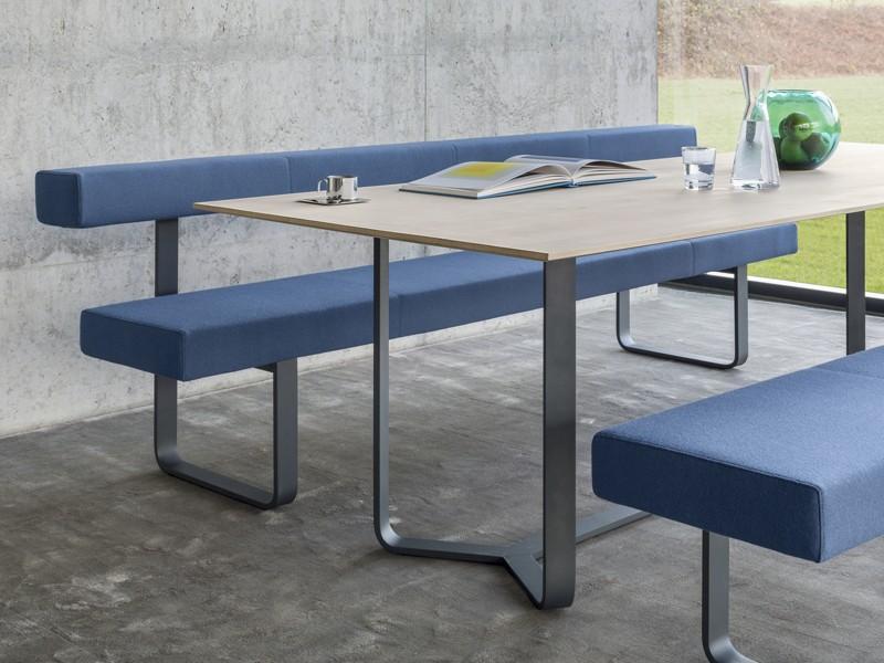 sitzbank mit lehne 240 cm girsberger permesso. Black Bedroom Furniture Sets. Home Design Ideas