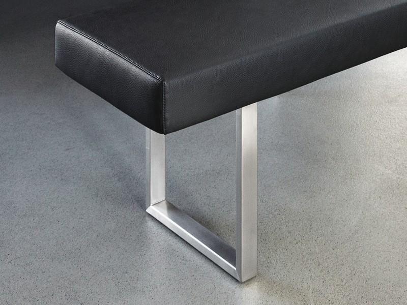 sitzbank gepolstert ohne lehne girsberger permesso bei jourtym. Black Bedroom Furniture Sets. Home Design Ideas