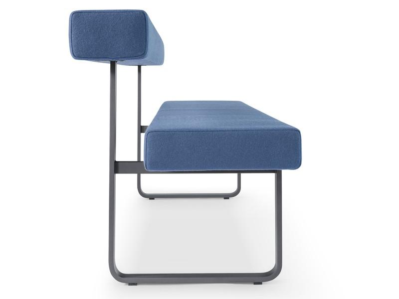 sitzbank mit r ckenlehne 140 cm girsberger permesso bei jourtym. Black Bedroom Furniture Sets. Home Design Ideas