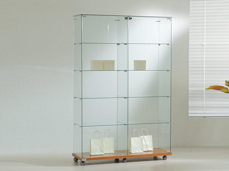 glas vitrine abschlie bar online kaufen bei. Black Bedroom Furniture Sets. Home Design Ideas