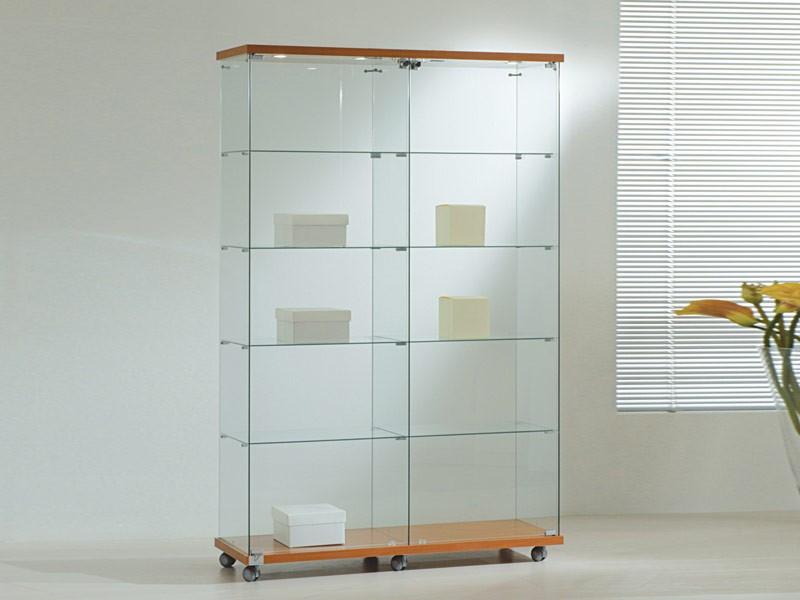 glas vitrine mit beleuchtung erwerben bei online shop. Black Bedroom Furniture Sets. Home Design Ideas