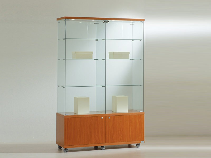glasvitrine mit beleuchtung online erwerben. Black Bedroom Furniture Sets. Home Design Ideas